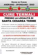Cure termali presso Santa Cesarea Terme