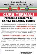 Servizio di trasporto per cure termali a S. Cesarea Terme