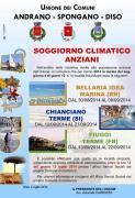 Organizzazione soggiorni climatici per anziani anno 2014