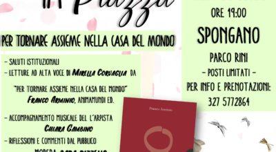 """Il 30 luglio debutta a Spongano """"Letti in Piazza"""", azione del progetto """"Leggere tra due mari"""" di cui l'Unione è partner per promuovere la lettura sul territorio. Prossime tappe Diso e Andrano."""